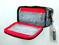 "NWT LeSportsac KEVYN COSMETIC BAG ""Terrier Toss"""