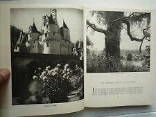 CHATEAUX ET VALLEE DE LA LOIRE DE J LEVRON 179 HELIOGRAVURES COUV DIGNIMONT 1958