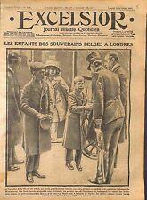 Prince Léopold & Charles de Belgique Princesse Marie-José Westminster WWI 1914