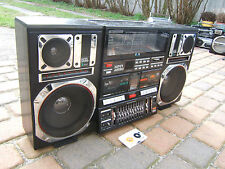 Intersound Super Jumbo J747S   Ghettoblaster Boombox Radio 80er 80s Vintage