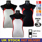 New Mens Pack of 3 Quality Vest TANK TOP SUMMER MUSCLE FIT Slim Fit #Y7