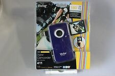 Vivitar DVR411 Digital Camcorder w/ Camera Blue Brand new sealed - FREE SHIPPING
