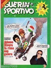 GUERIN SPORTIVO=N.11 1976= DOPPIO FILM CAMPIONATO =L'IMPERO AGNELLI