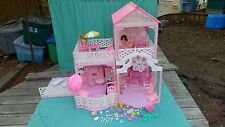 VTG Rare  Mattel Barbie Pretty'n Pink Doll House Dreamhouse Vintage