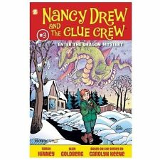 Nancy Drew and the Clue Crew #3: Enter the Dragon Mystery-ExLibrary