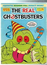 Marvel The Real GHOSTBUSTERS Comic - 7 January 1989, No.30