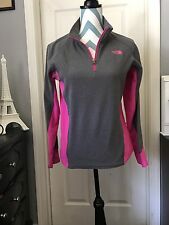 PRE-OWNED• North Face Girls Fleece Athletic Jacket Size 14