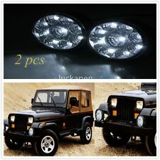 2Pcs 27W 12V 24V Spot Led Work Light Lamp Bar Boat Tractor Truck Off-road SUV