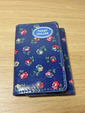 Cath kidston Card / Ticket holder oc  Elgin Ditsy Royal Blue