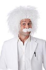 Albert Einstein Scientist Costume Wig and Moustache