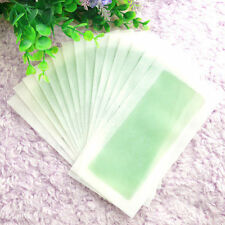 Removal 10Sides Leg Body Hair Depilatory Wax Strips Papers Waxing Nonwoven CHI