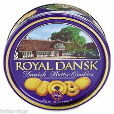 Royal Dansk Danish Butter Cookies 12 Oz Tin - Brand New Item