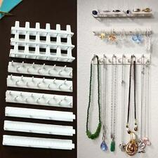 9pc/set Sundry Jewelry Ring Necklace Organizer Hanging Tool Stand Wall Holder DH