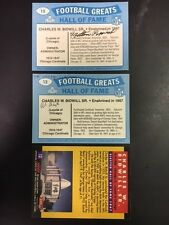 Milton Popovich Signed Owner Card(Cardinal Owner)Montana/Cardinals COA