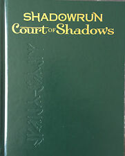 Limited Edition Shadowrun 5th Ed Court of Shadows HC Catalyst Ltd - New