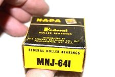 FEDERAL NEW NIB MNJ-641 (also known as MNJ471S) ROLLER BEARING ALTERNATOR REAR