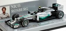 2014 Petronas F1 Nico Rosberg Diecast Model Car in 1:43 Scale by Minichamps