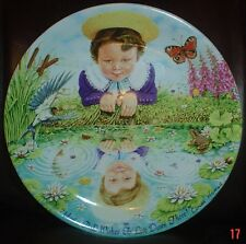 Davenport Collectors Plate LOOKING GLASS RIVER From THE CLASSIC CHILDRENS VERSE
