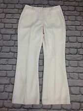 BNWOT MINT VELVET LADIES UK 14 OFF WHITE STRAIGHT LEG TROUSERS RRP £69.00