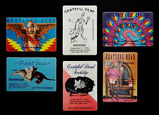 Grateful Dead Backstage Pass 1993 MSG New York NY Jerry Garcia Art Cats Ladies