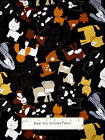 Timeless Treasures Puppy Dog Poodle Hound Dogs Toss C1277 Cotton Fabric 1.81 Yds