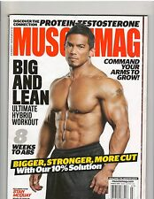 MuscleMag bodybuilding muscle fitness magazine Stan McQuay 3-14