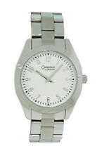 Caravelle by Bulova 43L145 Women's Boyfriend Style Analog Silver Tone Watch