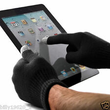 2 Pares de Guantes de Invierno Unisex Pantalla Táctil para iPad iPhone HTC Smart Phone S *