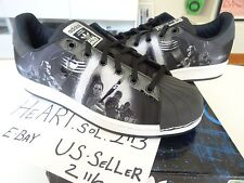 NEW Adidas Superstar Star Wars Jedi Stan Smith SHOE SZ 4.5 Kids S74719 DARTH JS