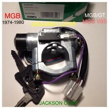 MGB 1973 ON LUCAS STEERING LOCK & IGNITION SWITCH  BHM7143/BHM7144 RUBBER BUMPER