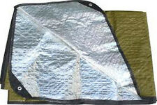 US Military G.I. Issue Casualty Outdoor Survival All Weather Blanket  US made