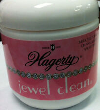 Hagerty Jewel Clean Jewelry Cleaning Solution With Basket tray and Brush 7 FL Oz
