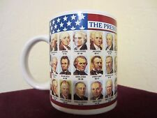 Stunning VTG Unique Collectible The Presidents of the USA Tea/Coffee Cup/Mug