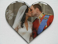 Prince William and Kate Middleton FRIDGE MAGNET Royal Wedding Kiss