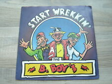 hiphop7rap45oldschool novelty *EX* uk80s comedy THE B-BOYS Start Wrekkin' pop
