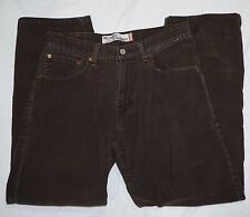 Levis 559 Mens Relaxed Straight Corduroy Pants Tag Size 31x30 Measured 31x29