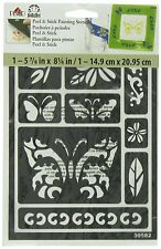 FolkArt Peel and Stick Painting Stencil, 30582 Butterfly by FolkArt BRAND NEW