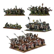Mantic Games Kings of War BNIB Orc Starter Force MGKWO100