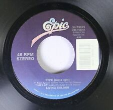 Rock 45 Living Colour - Type (Radio Edit) / Should I Stay Or Should I Go On Epic
