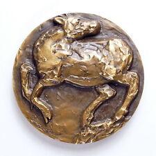 """Bronze Medaille """"Danmark 1974"""" Dänemark Nordisk Kunst Medalje Kultateollisuus"""