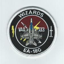 "VAQ-133 ""WIZARDS"" EA-18G bullet patch"