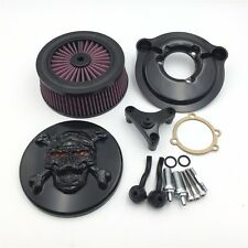 Zombie Air Cleaner Kit For Harley 2007-2017 XL Sportster 1200 Seventy Two Black