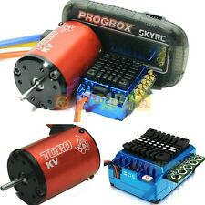 SkyRC Toro TS120 3650 Brushless Motor ESC Program Combo 3000kv 6.5T 120A RC 1/10