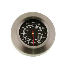 """3"""" BBQ Pit Smoker Grill Stainless Steel Thermometer Gauge Temp Barbecue Cook"""