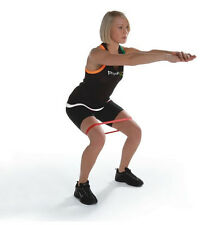 Resistance Band LOOP Exercise X-Light Pilates Yoga Pilates Legs Arms Therapy RED