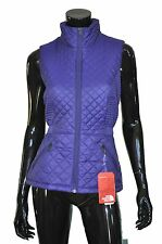 The North Face Womens Luna Vest Insulated Small S Purple (Patriot Blue)
