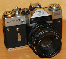ZENIT-EM EARLY TYPE OLYMPIC   SLR Camera   M42 #77106621 . VERY RARE