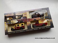 Lledo BRL1003 BRITISH RAILWAYS SERVICE VANS 1950's - Ltd. Ed. Boxed Set - MIB