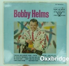 SEALED BOBBY HELMS Self Titled VOCALION Original ROCKABILLY COUNTRY Vinyl LP