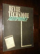 REVUE TECHNIQUE AUTOMOBILE N° 108 - 1955 - Moteurs Perkins...